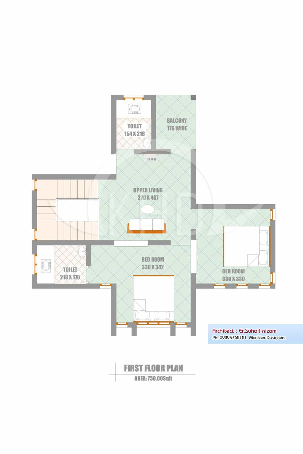 A Beautiful Kerala House And Elevation Plan 2302