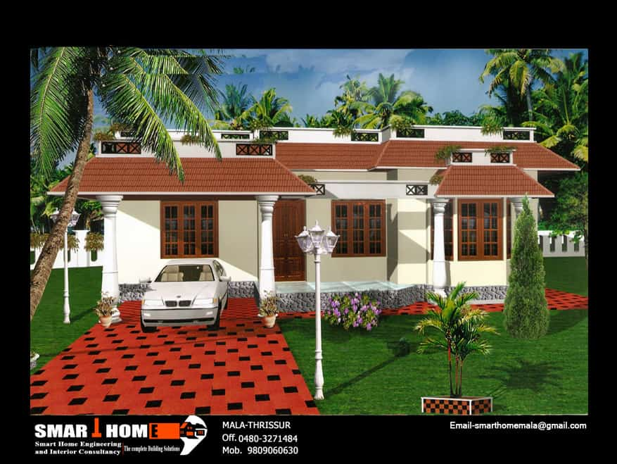 Single Storey house elevation