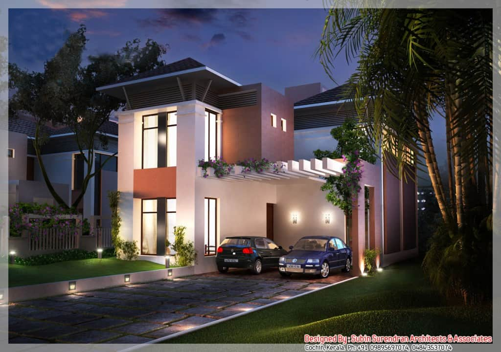 Beautiful Modern Kerala House Design At 2200 Sq Ft
