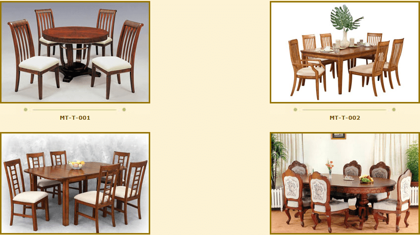 dining table price trivandrum collections