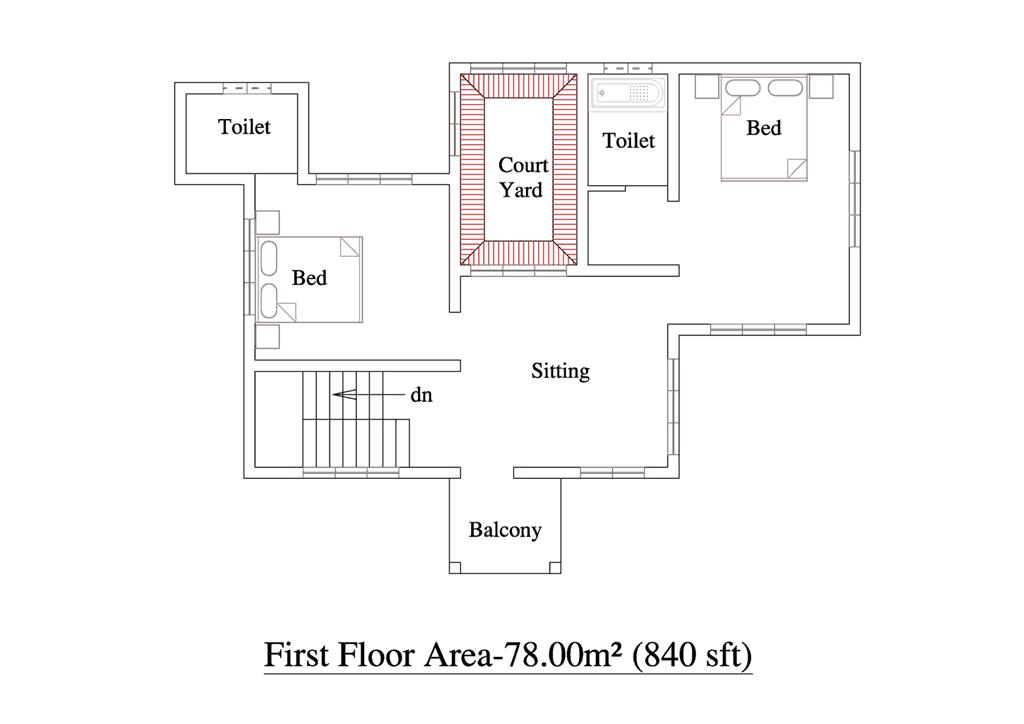 Traditional 3 bhk kerala villa design at 2000 for 3 bedroom house plan kerala