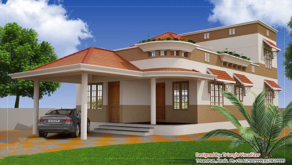 Traditional Kerala Home at 2325 sq.ft
