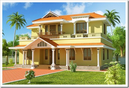 93+ 3d Simple Dream House Drawing - Gallery Simple Beach House ... Kerala Home Designs Floor Pl E A Html on
