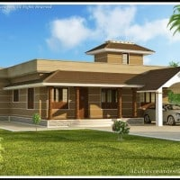 Kerala home design : Single story house at 1400 sq.ft