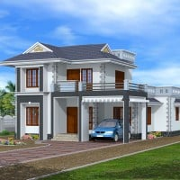 kerala house at 1845 sq.ft