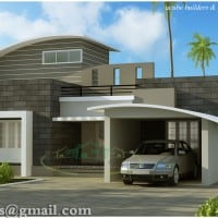 Kerala house plan contemporary style