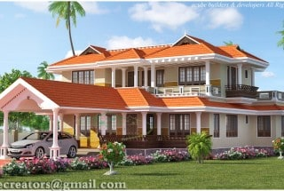. Kerala House Plans|Kerala Model Home Plans with Photos Elevation Style