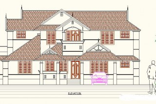 Kerala house plans 4 bhk home