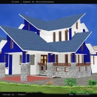 house plan at 2300 sq.ft