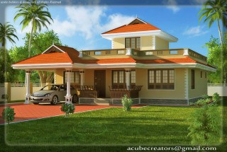 Dream House Drawing on Kerala House Plans Kerala Model Home Plans With Photos Elevation Style