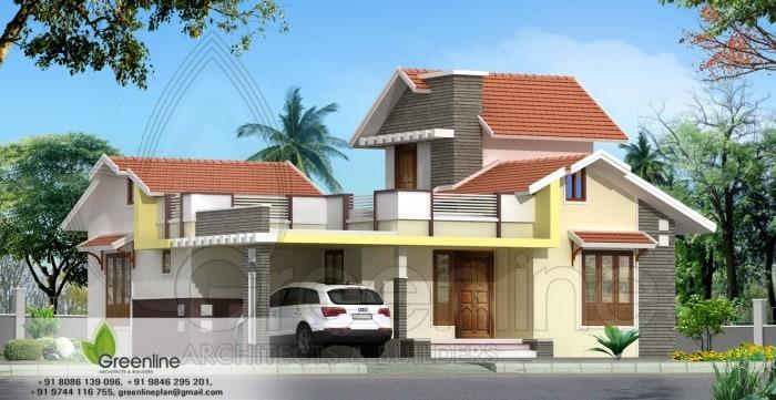 Kerala Home Designs Photos in Single Floor