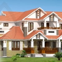kerala home plan at 250 sq.ft