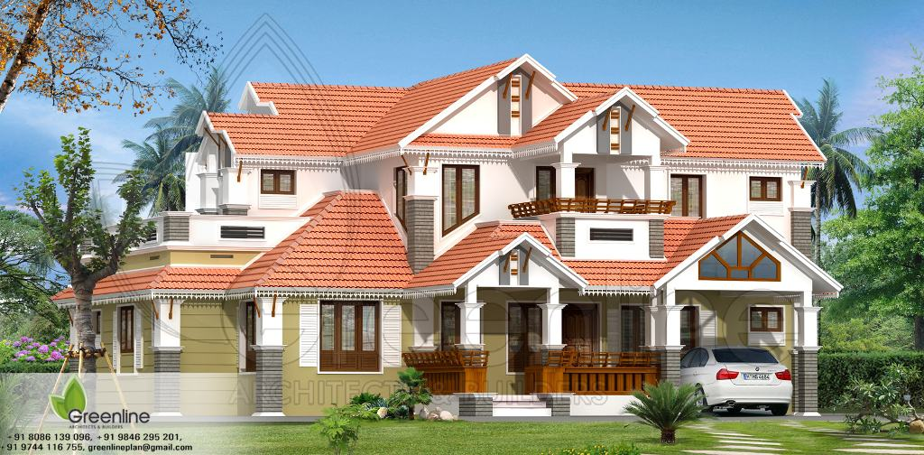 Kerala House Traditional Kerala Style Home Plan At 2520 Sq Ft
