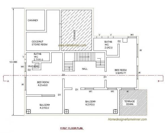 kerala house plan at 3035 sq ft house plans included home design duplex house plans duplex floor plans ghar