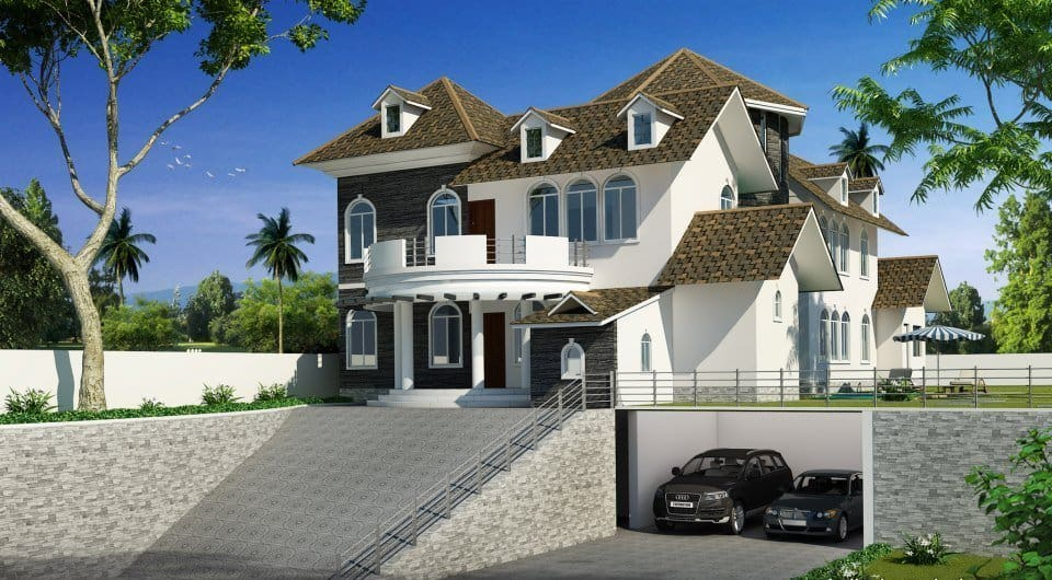 Elegant Home Design luxury elegant kerala home plan at 4787 sq.ft