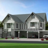 luxurious kerala house designs