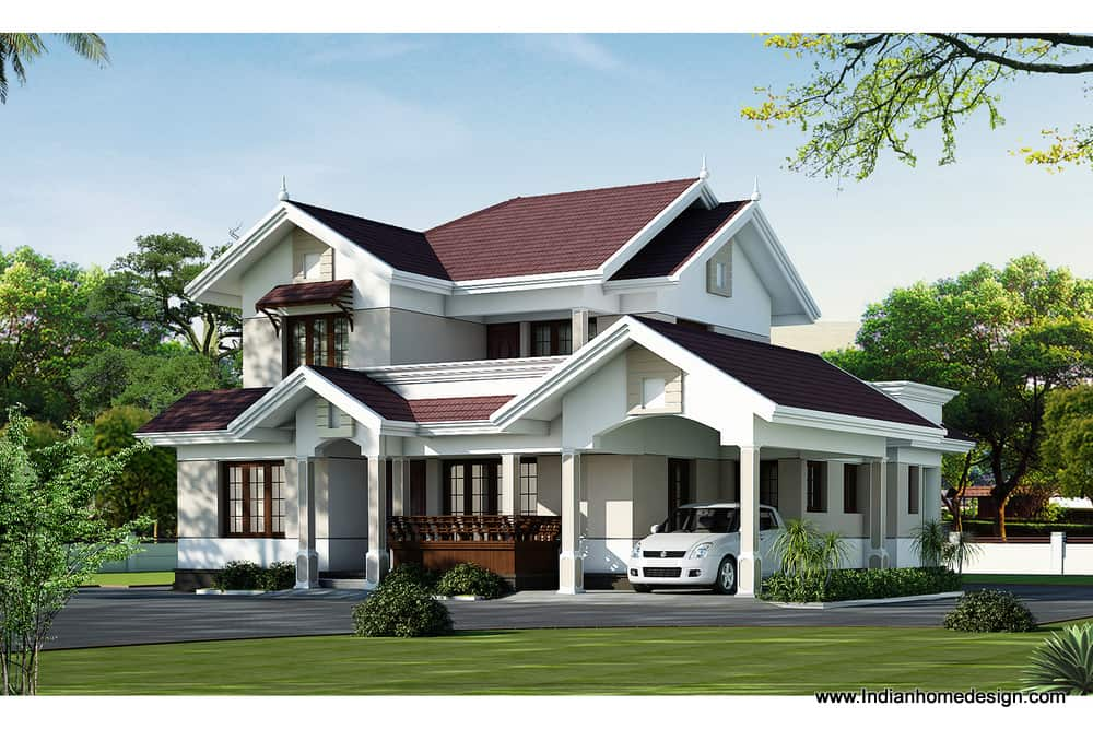 kerala home plan at 2000 sq.ft