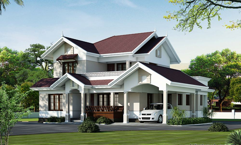 Modern Beautiful Kerala Home Design at 2000 sq.ft