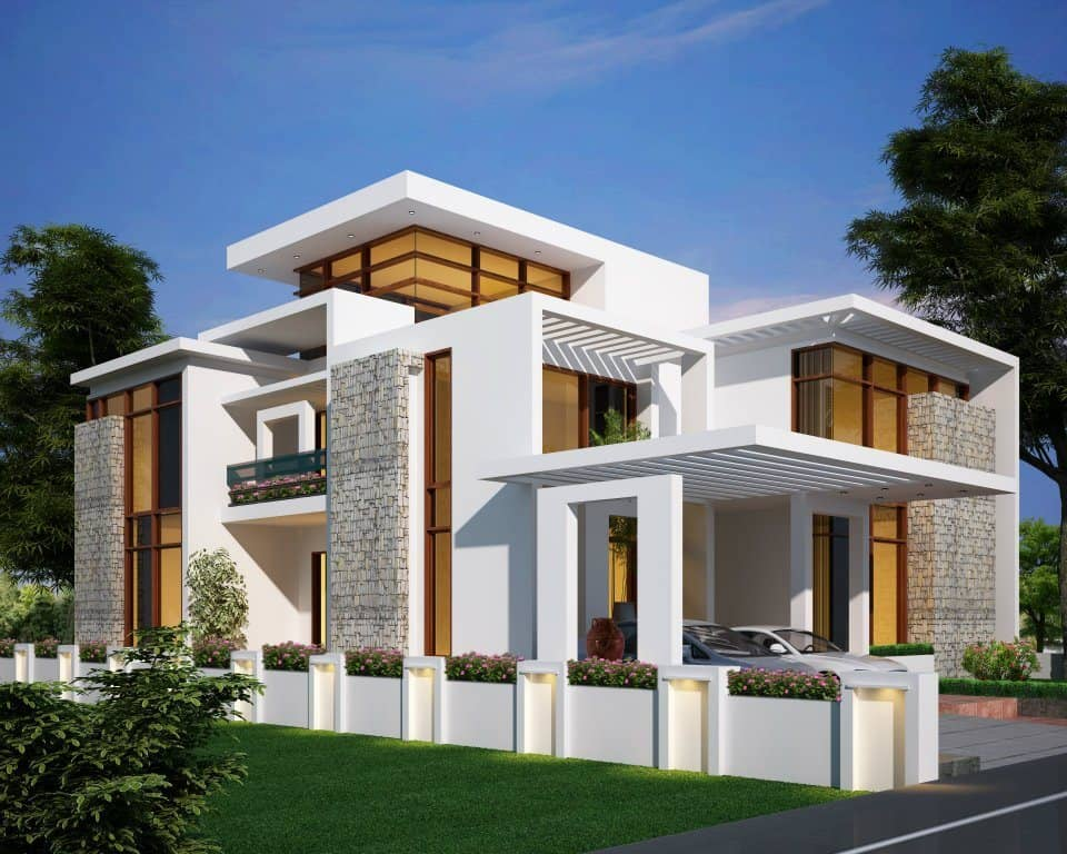 Beautiful house elevation designs gallery pictures for Attractive home designs