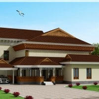 Traditional kerala home at 3186 sq.ft