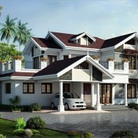 kerala house plan at 2750 sq.ft
