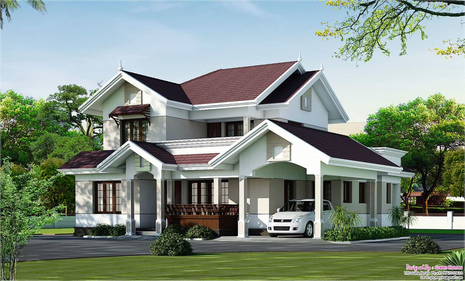 latest kerala home design at 2000