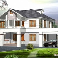 kerala house plan at 2400 sq.ft