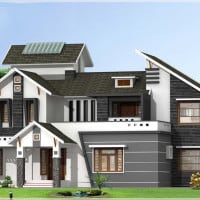 Trans Unique Kerala Style Home Design With Kerala House Plans Attached