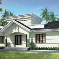 single floor kerala house plan