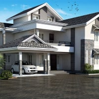 modern-sloping-roof-house