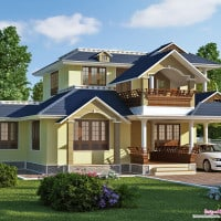 sloping-roof-villa