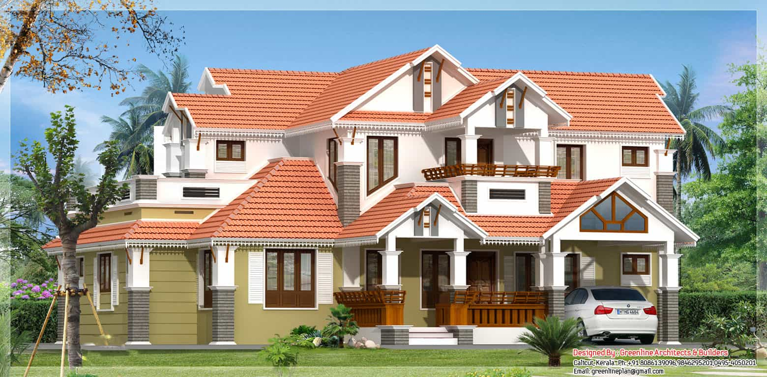 Kerala house plan at 2520 sq.ft
