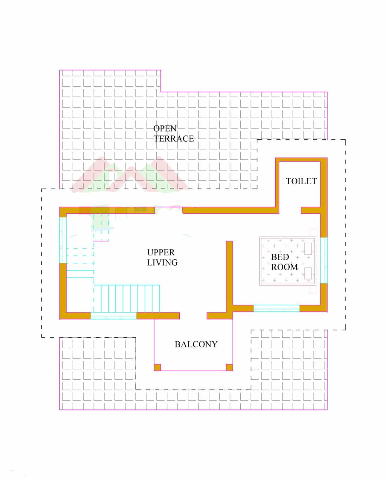 1500 3000 sq ft keralahouseplanner com 2226 house design with kerala - Kerala House Plans Ground Floor First Floor Plan
