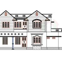 Kerala house plans front view