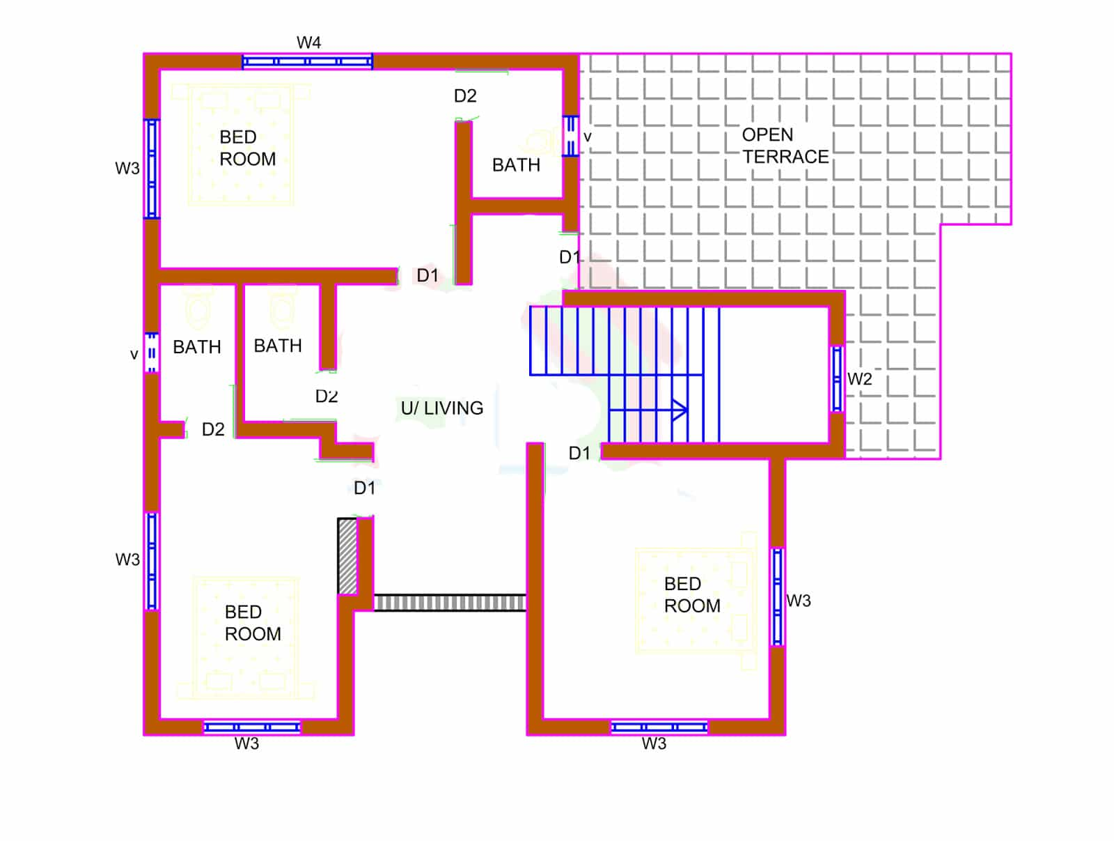 2226 house design with kerala house plans for Home design plans