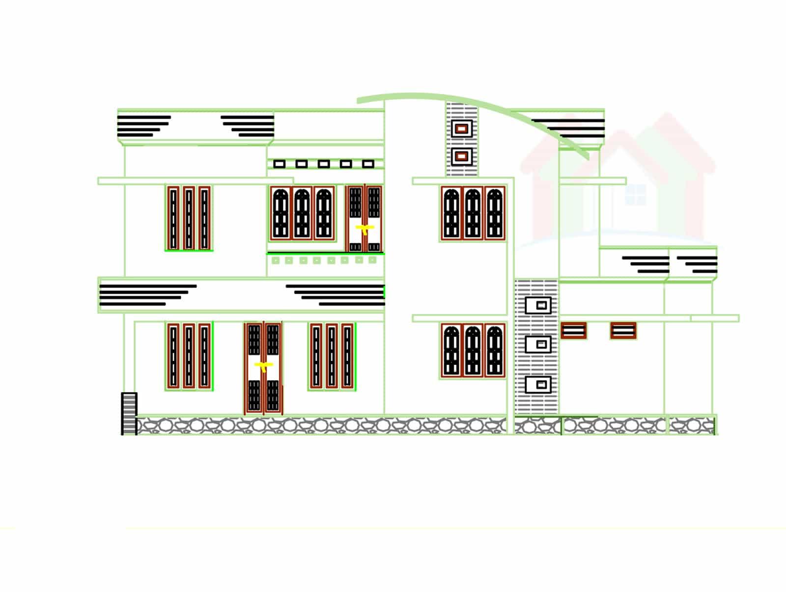 1500 3000 sq ft keralahouseplanner com 2226 house design with kerala - Advertisement Kerala House Plans