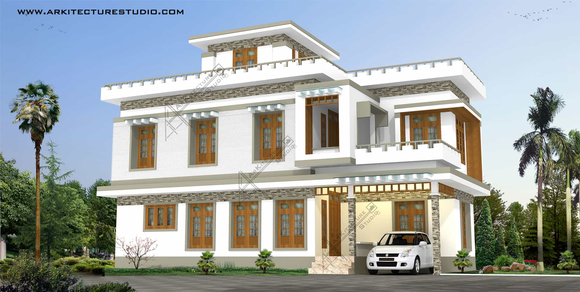 Kerala home designs 2015 5 designs photos khp for Home designs 2015