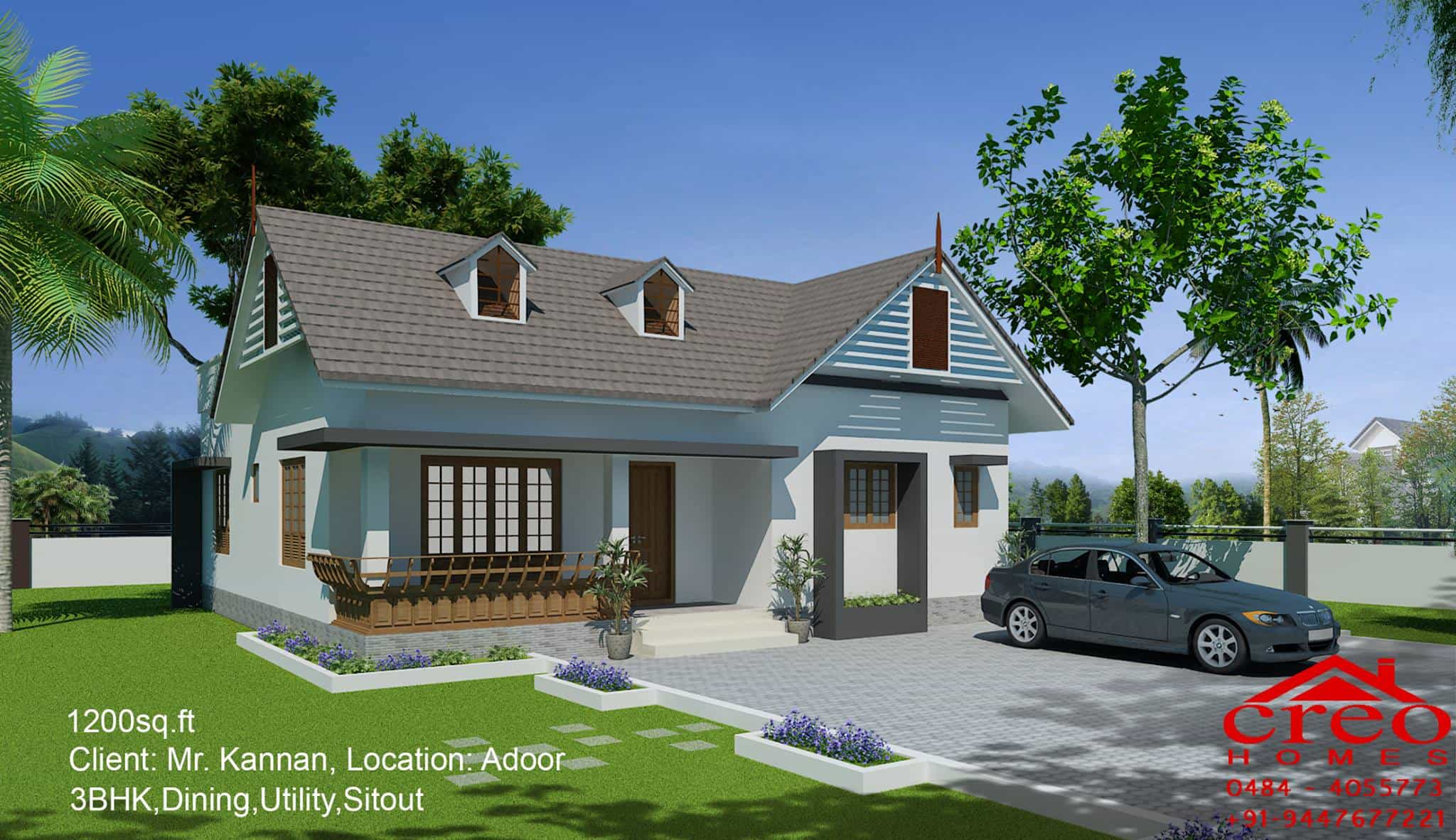 5 Lakh Home Design Part - 20: House Design In Kerala Below 15 Lakhs