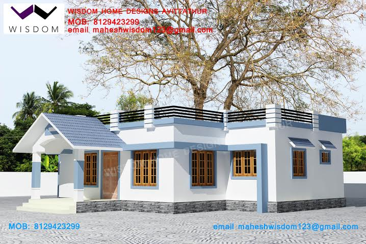5 Lakh Home Design Part - 39: Budget Double Floor House Designs With Cost ,Plan U0026 Photos