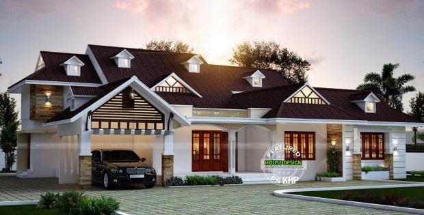 single floor bungalow design