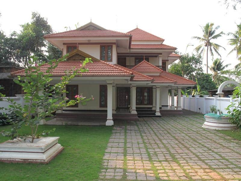 Kerala House Front Elevation Models : Kerala home design house plans indian budget models
