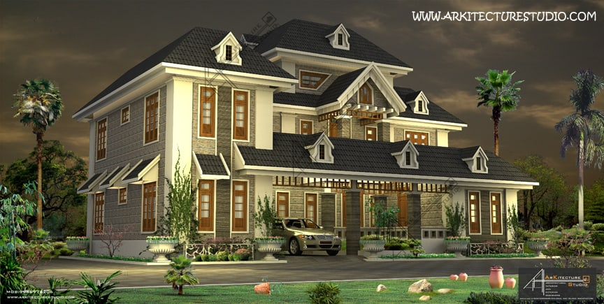 Architecture Design Kerala Model kerala home design & house plans | indian & budget models
