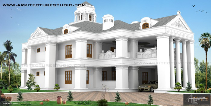 colonial house design under 500 0 sq.ft
