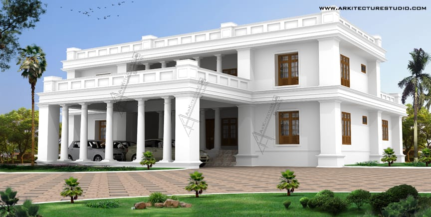 14 Colonial Luxury House Designs in India That You Will Love