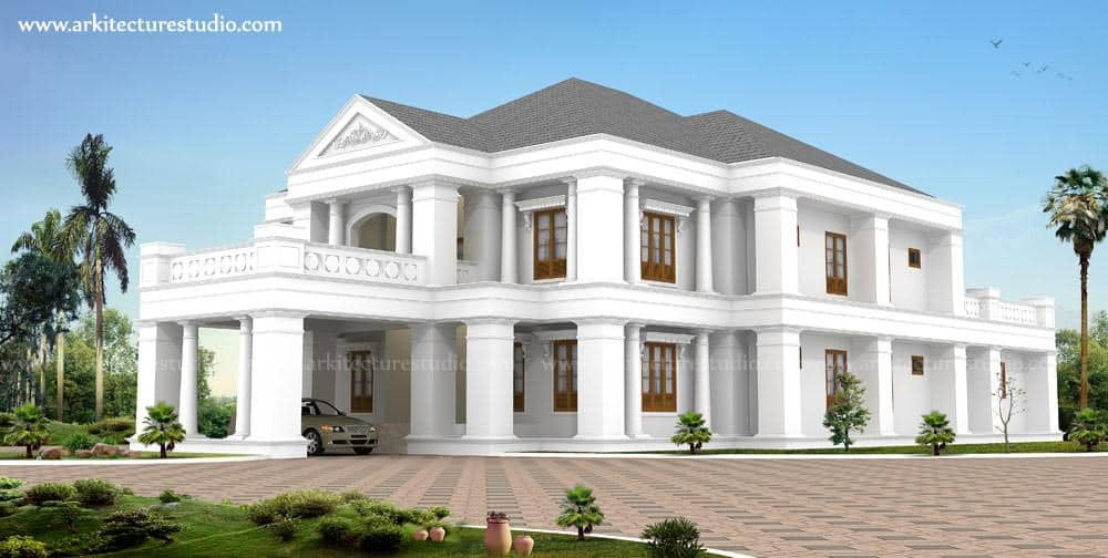 Two storey kerala house designs keralahouseplanner for Indian house image