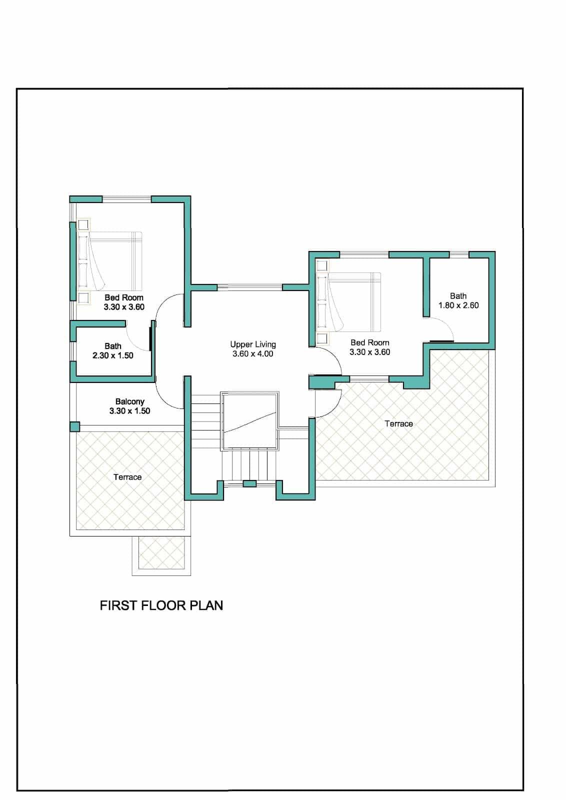 Contemporary Kerala House Plan At 2000 Sq Ft