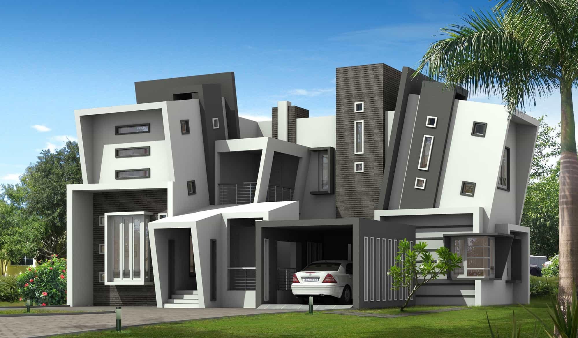 Unique Kerala style home design with Kerala house plans ...