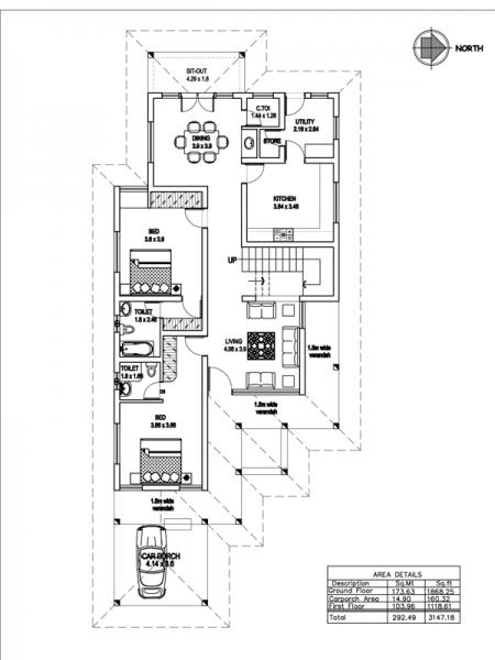 . Latest Home Plans In Kerala   Flisol Home
